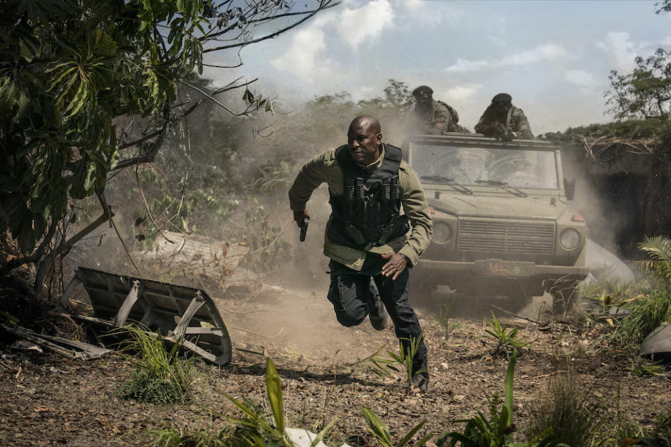 Roman Pearce (Tyrese Gibson) in Fast & Furious 9. (PHOTO: United International Pictures)