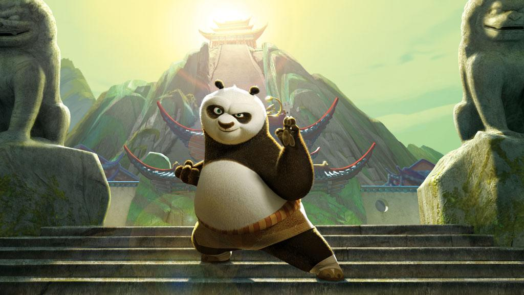 """6. <a href=""""http://movies.yahoo.com/movie/1809826133/info"""">KUNG FU PANDA</a>  Total Gross: $215,434,591    Armed with all the right moves and an all-star voice cast, DreamWorks' unlikely kung fu hero battled his way to box office greatness, nabbing the animation studio one of its biggest, fattest, fuzziest hits yet."""