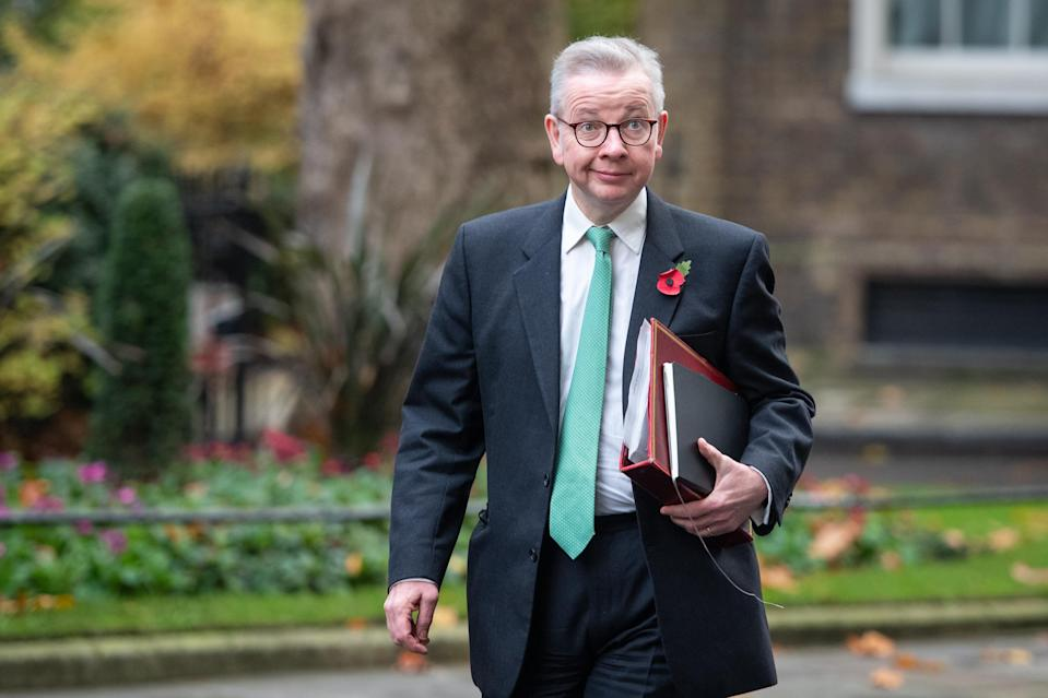 Cabinet Office Minister Michael Gove insisted the Scottish election results showed voters were not 'agitating' for a second referendum. (Dominic Lipinski/PA)