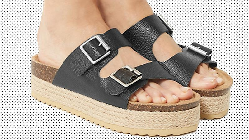 These M&S sandals have been my favourite summer purchase. (Marks and Spencer)
