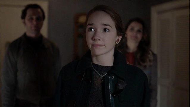 Holly Taylor as Paige Jennings (Screengrab: FX)
