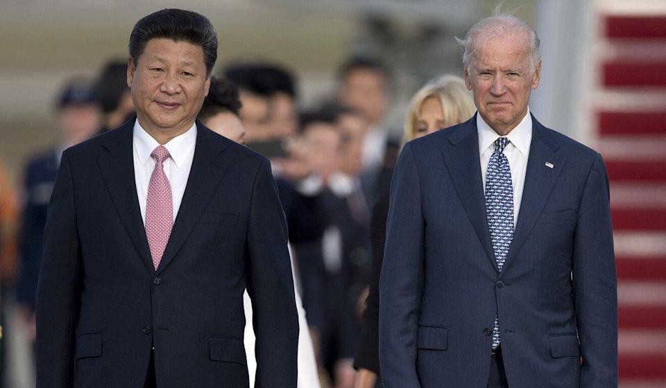 Joe Biden says he has spent more time with Xi Jinping than any other leader. Photo: AP