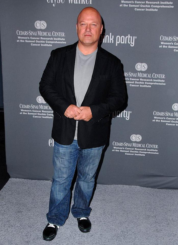 "The ""Shield's"" Micheal Chiklis looks uncomfortable in a painfully-casual ensemble consisting of a blazer and jeans. Steve Granitz/<a href=""http://www.wireimage.com"" target=""new"">WireImage.com</a> - September 13, 2008"