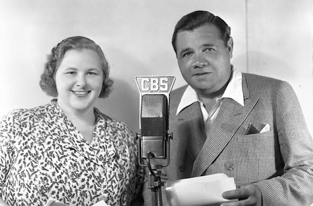 "Kate Smith's version of ""God Bless America"" has been played at Yankee Stadium for 18 years, but they stopped in 2019 after finding several songs Smith recorded with racist lyrics. (Getty Images)"