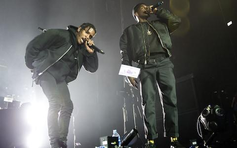 <span>ASAP Rocky on stage in London in October 2015</span>