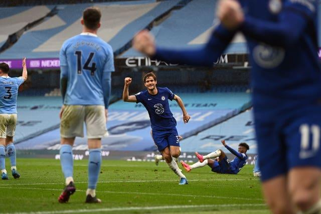 Chelsea have twice beaten Manchester City in recent months