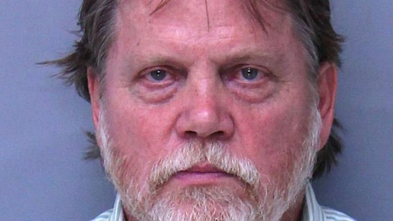 Frederic Sterry Smith was charged with simple battery after writing an anti-gay comment on a restaurant's bill and stuffing the check down a manager's shirt. . (St. Johns County Sheriff Office)