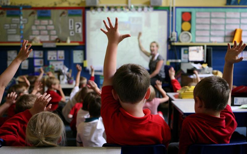 Teachers are spending just 43 per cent of their working time in the classroom, a survey by Ofsted has found - PA