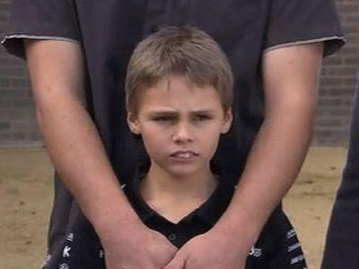 Boy almost crushed to death in rubbish bin hide-away