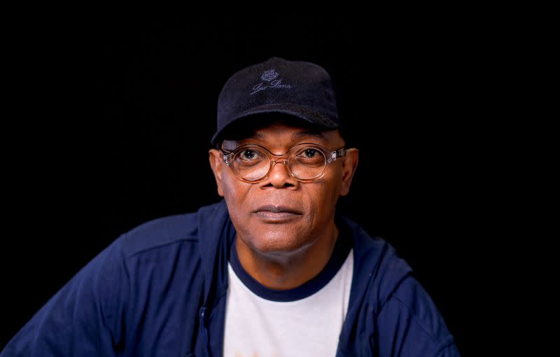 FILE PHOTO: Actor Samuel L. Jackson poses for a portrait for Captain Marvel in Beverly Hills