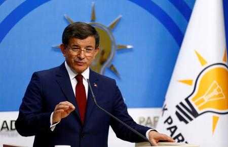 Former Turkish PM breaks ties with Erdogan, ruling AK Party