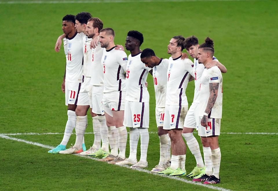 England lost on penalties (PA Wire)