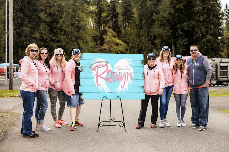 Brynn and Cassie's charity throws all kinds of fund-raising events, so far helping 173 families who have lost children.
