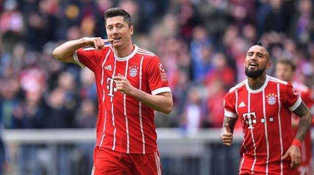 "<p>Manchester United are the only side to have registered an interest in Bayern Munich hitman Robert Lewandowski, with Real Madrid considering dropping out of the race for the prolific Poland international. </p><p>German outlet Kicker (via <a href=""http://www.espn.co.uk/football/blog/transfer-talk/79/post/3416299/manchester-united-favourites-to-sign-robert-lewandowski"" rel=""nofollow noopener"" target=""_blank"" data-ylk=""slk:ESPN"" class=""link rapid-noclick-resp"">ESPN</a>) report that the Premier League side are currently the sole team in the race for the 29-year-old, who ditched his long-time agent Cezary Kucharski last month for transfer guru Pini Zahavi. </p><p>The move alerted a number of clubs to the possibility that the striker - <a href=""http://www.90min.com/posts/5999989-robert-lewandowski-becomes-bayern-s-highest-scoring-foreign-player-in-history-after-hamburg-treble"" rel=""nofollow noopener"" target=""_blank"" data-ylk=""slk:Bayern's quickest to 100 Bundesliga goals after his strike against Hamburg on the weekend"" class=""link rapid-noclick-resp"">Bayern's quickest to 100 Bundesliga goals after his strike against Hamburg on the weekend</a> - could be open to leaving the German side this coming summer. </p><p>However, Jose Mourinho's United are the only team to have actually made a move in that time, despite long-term speculation linking Lewandowski with Real Madrid for a number of years. </p><p>If United's interest in the Pole is perplexing given the good form of £75m man Romelu Lukaku and the burgeoning talents of Marcus Rashford and Anthony Martial, Real's apparent reluctance to move for one of the world's leading strikers is equally surprising. </p><p>With Karim Benzema's stock continuing to plummet thanks to the Frenchman's return of just four goals in 22 La Liga appearances this season, Real are in the market for a new forward - and that need has only been made more pressing by the issues between Zinedine Zidane and Gareth Bale. </p><p>Lewandowski, meanwhile, has scored 32 goals in 35 games in all competitions this season, including a league-leading 23 from 24 Bundesliga matches - a figure which puts him a full 10 goals clear of his nearest challenger for the golden boot in Germany's top flight. And that challenger is Pierre-Emerick Aubameyang. Who doesn't play in Germany now.</p>"
