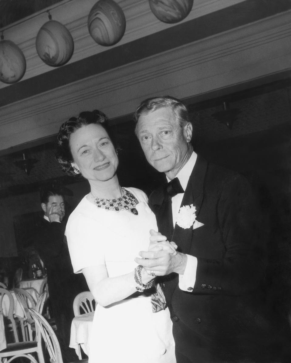 <p>The Duke and Duchess of Windsor caused a spectacle when Edward VIII abdicated the British throne to marry his twice-divorced American love. Their romance altered the course of history and remains shrouded in controversy - even to this day. <em>(Image via Getty Images)</em></p>