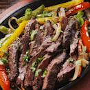 """<p>Confession: We really love steak fajitas. There's nothing quite as exciting as sizzling steak, which is why we HAD to make these at home! </p><p>Get the <a href=""""https://www.delish.com/uk/cooking/recipes/a35582675/sizzling-steak-fajitas-recipe/"""" rel=""""nofollow noopener"""" target=""""_blank"""" data-ylk=""""slk:Steak Fajitas"""" class=""""link rapid-noclick-resp"""">Steak Fajitas</a> recipe.</p>"""