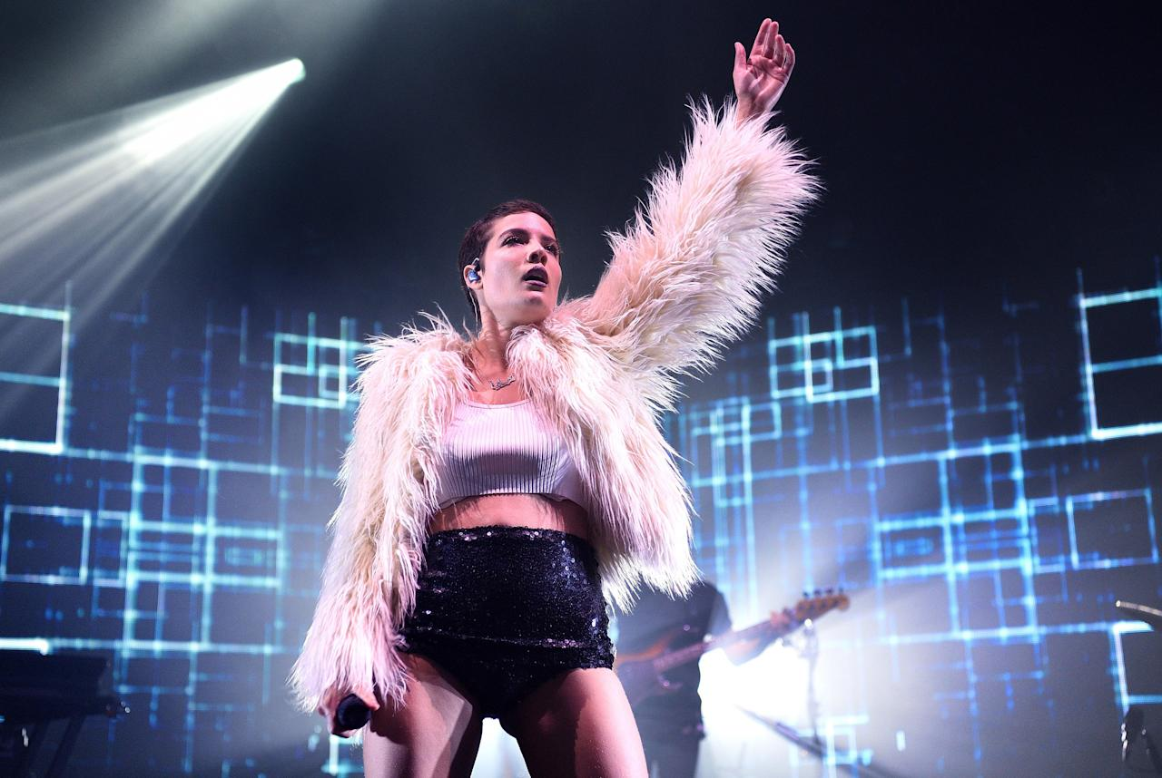 """The title of this 2014 Halsey track is pretty on-the-nose for a Halloween playlist, as is the vacant, despondent way she delivers the chorus. """"Ghost, where'd you go?"""" Halsey sings as a frigid beat lingers in the background. Just don't look behind you. <a href=""""https://www.youtube.com/watch?v=ao4o-XRU_KM"""">Listen here.</a>"""