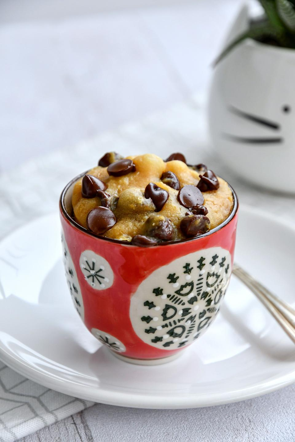 La recette du cookie mug par Julia Pairot. (Photo: © Julia Pairot)