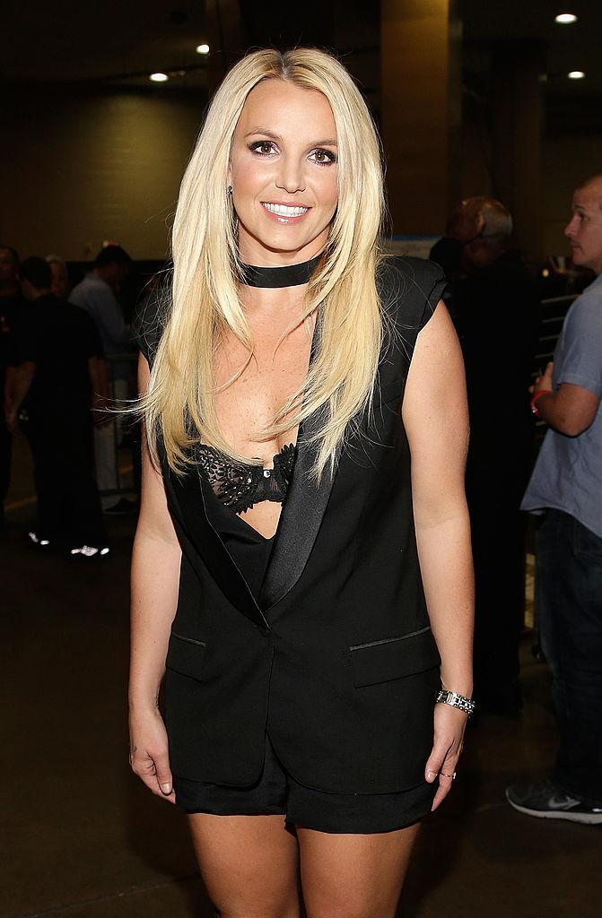 Spears in 2013, looking a bit more like herself. (Photo: Getty Images)