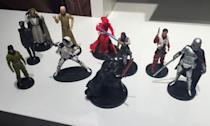 <p>Here's the full assorted die-cast character collection from 'The Last Jedi' (Yahoo Movies UK/Disney) </p>
