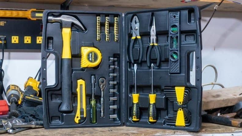 Give him the tools he actually needs.