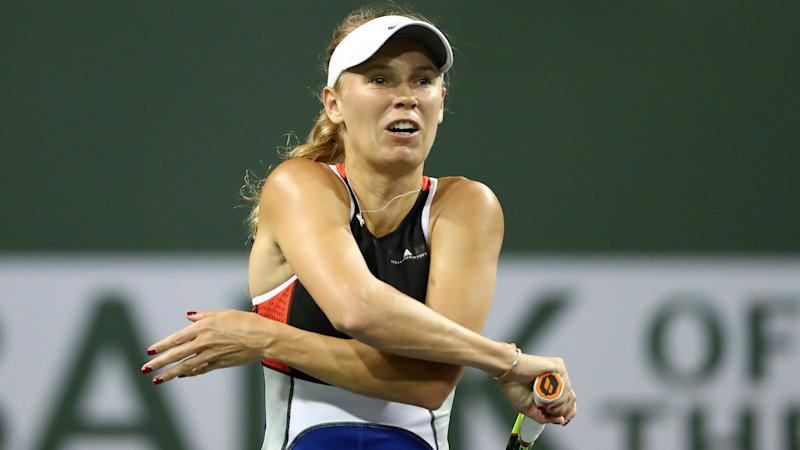 Wozniacki demands action after Miami Open abuse