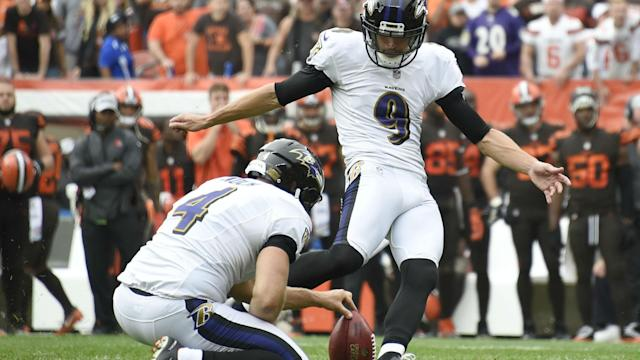 Justin Tucker is staying with the Baltimore Ravens for the next four years, having agreed a reported record-breaking deal.
