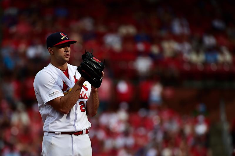 St. Louis Cardinals ace Jack Flaherty (22) is set to start Game 2 of the National League divisional series against the Atlanta Braves. (Jeff Curry-USA TODAY Sports)