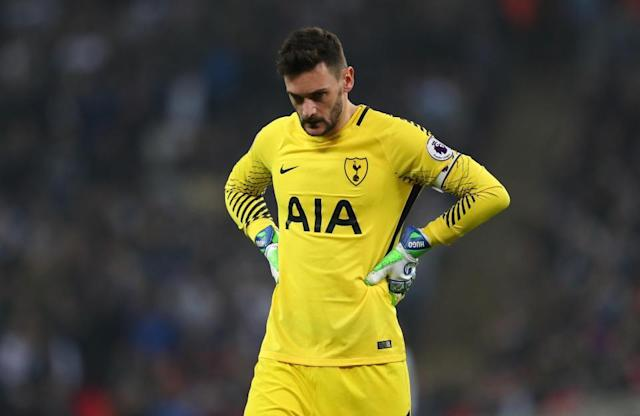 Lloris is expected to be in the Tottenham team for Monday's meeting with Manchester United