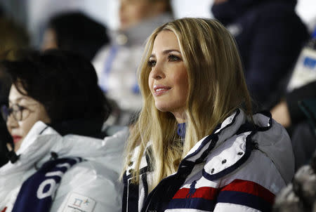 Pyeongchang 2018 Winter Olympics - Closing ceremony - Pyeongchang Olympic Stadium - Pyeongchang, South Korea - February 25, 2018 - U.S. President Donald Trump's daughter and senior White House adviser, Ivanka Trump during the closing ceremony. REUTERS/Patrick Semansky/Pool