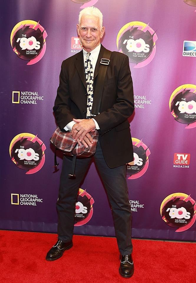 """Scott Bromley attends Nat Geo's """"The '80s: The Decade That Made Us"""" New York Premiere at Culture Club on April 9, 2013 in New York City."""