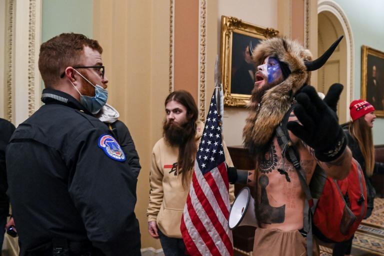 Supporters of Donald Trump, including far-right extremists and QAnon conspiracy theorists, stormed the US Capitol on January 6, 2021 in a deadly attack