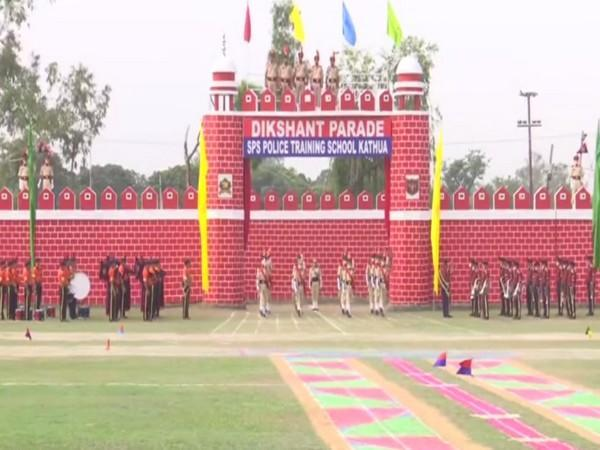 Attestation cum passing out parade held at SPS Police Training School in Kathua (Photo/ANI)
