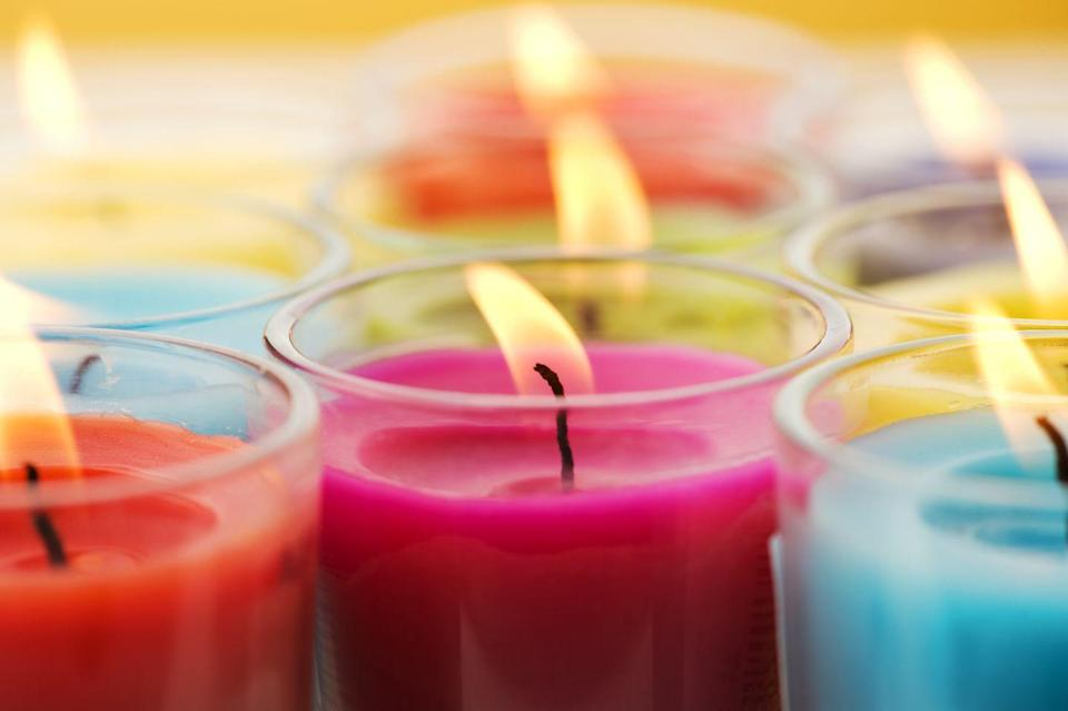 <p>Holiday candles are superior and really help set the stage for the season. Grab a ton of holiday candles in fun scents, blindfold your guests and have them guess the scent. May the best nose win! </p>