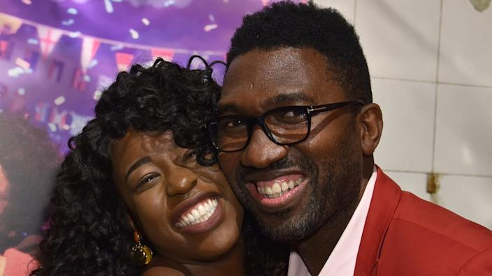 """Kwame Kwei-Armah says he feels """"relieved""""."""
