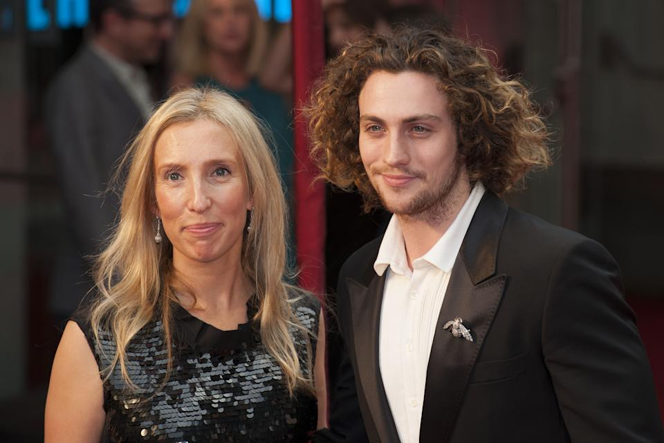 Married couple Sam and Aaron Taylor-Johnson