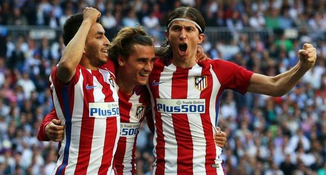 Griezmann scored in the 85th minute. (Reuters)