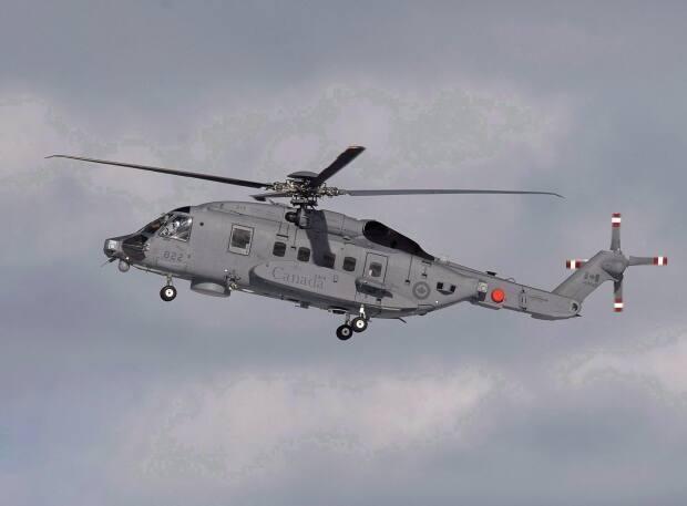A CH-148 Cyclone maritime helicopter such as this crashed in the Ionian Sea last year, killing six. (Andrew Vaughan/Canadian Press - image credit)