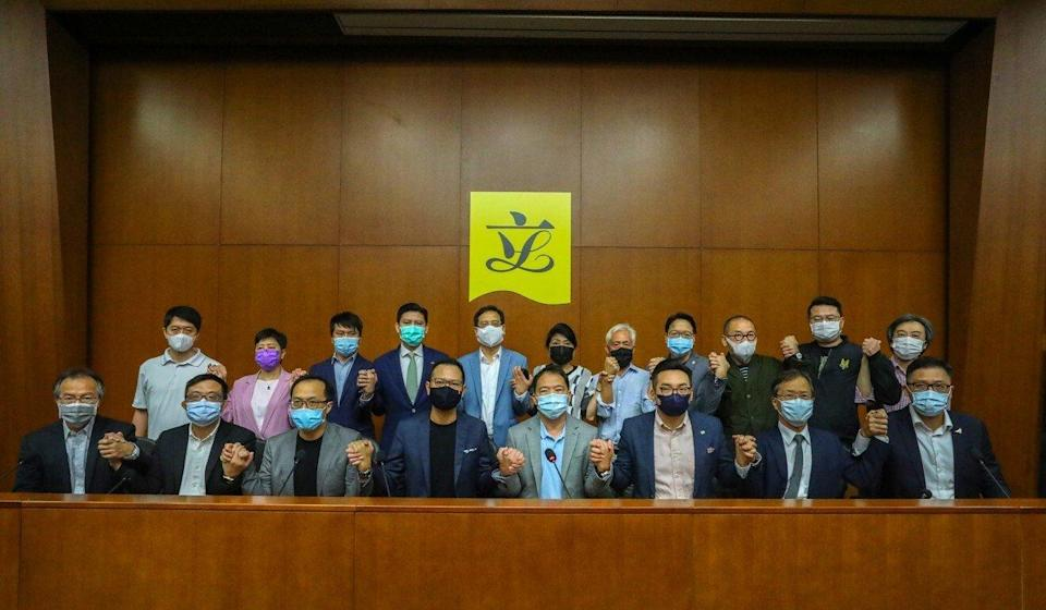 Several former opposition lawmakers are among those facing prosecution under the national security law. Photo: Dickson Lee
