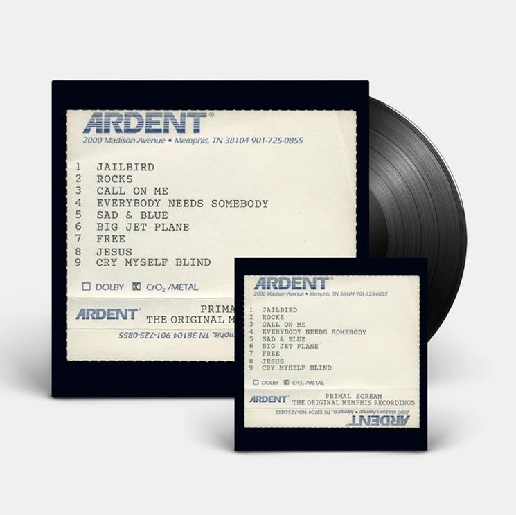<p>In the mid-'90s, Bobby Gillespie's pioneering Britrock band entered Memphis's Ardent Studios with Tom Dowd and the Muscle Shoals rhythm section. The resulting recordings were recently found in Primal Scream guitarist Andrew Innes's basement, incredibly, and are finally getting a proper release on both vinyl and CD. The CD box comes with a bonus disc compiling 15 additional variations (rehearsals, monitor mixes) from these historic sessions. </p>