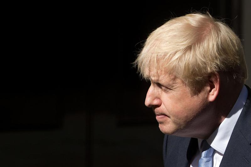 Mr Johnson has vowed to leave the EU on October 31 (AFP/Getty Images)