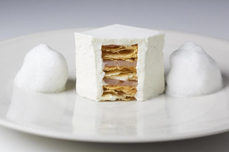 Admirably pure architectural construct: The White Millefeuille