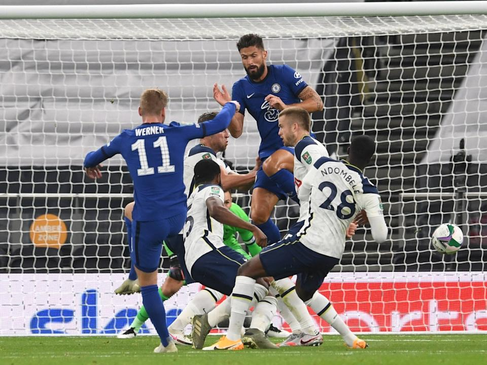 Timo Werner fires Chelsea in frontReuters