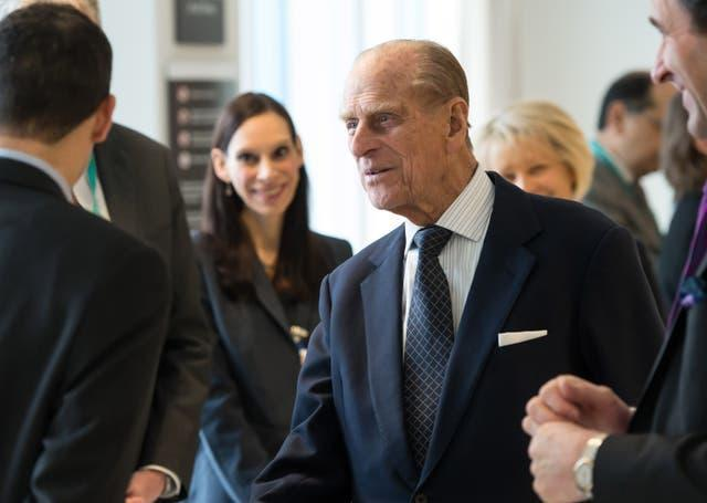 Philip opened the new Royal London Hospital building in 2013