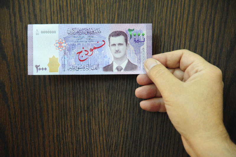 Syria Economic Meltdown