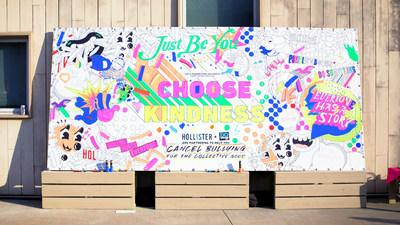 Cancel Bullying campaign mural | Hollister and DoSomething.org