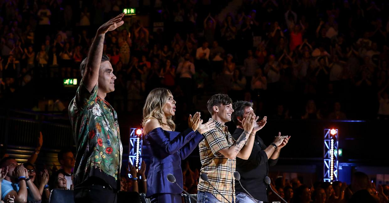 The new judge line-up failed to ignite last year's X Factor ratings. (ITV Pictures)