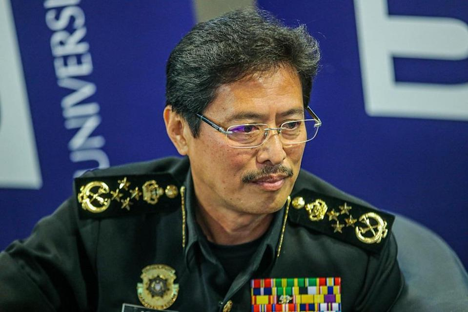 MACC chief commissioner Datuk Seri Azam Baki said that civil servants the MACC arrested for corruption are usually those in senior positions and financially comfortable. — Picture by Hari Anggara