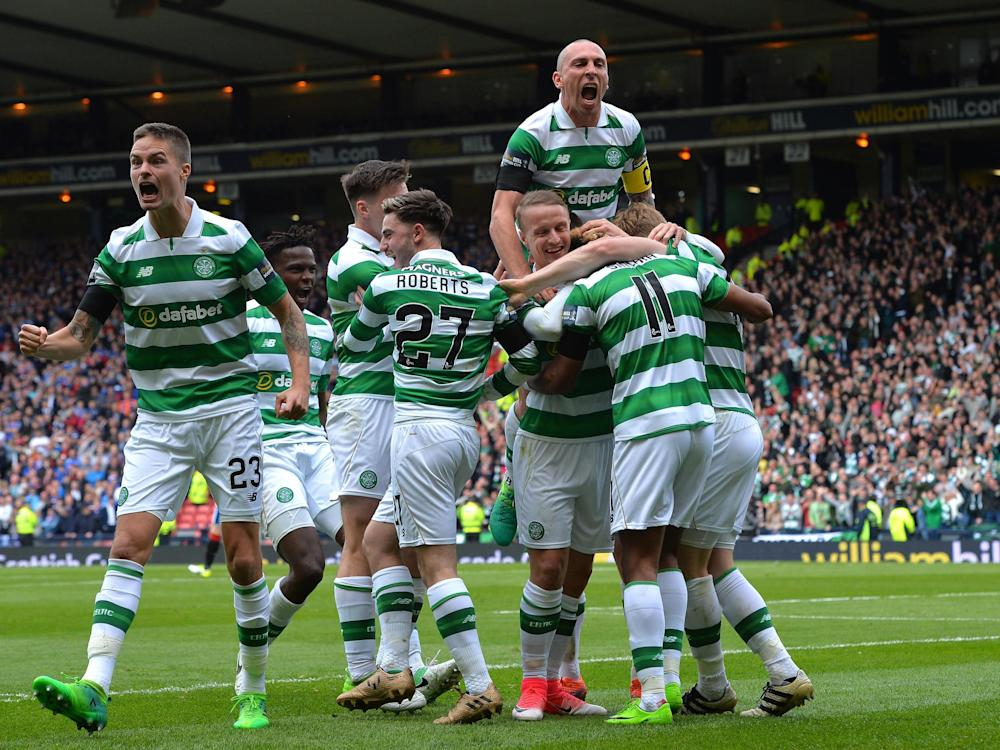 Celtic face Aberdeen in the final: Getty