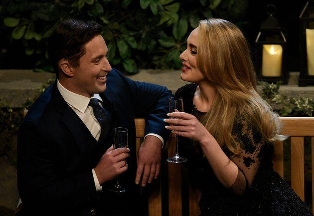 Adele and Beck Bennett during